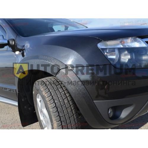 Расширители колёсных арок «Карт» для Renault Duster(Рено Дастер)